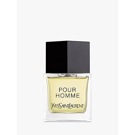 Buy Yves Saint Laurent Pour Homme Eau de Toilette Natural Spray, 80ml Online at johnlewis.com