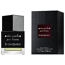 Buy Yves Saint Laurent Rive Gauche pour Homme Eau de Toilette Natural Spray, 80ml Online at johnlewis.com