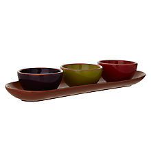Buy John Lewis Al Fresco Dip Dishes, Set of 3, Assorted Online at johnlewis.com
