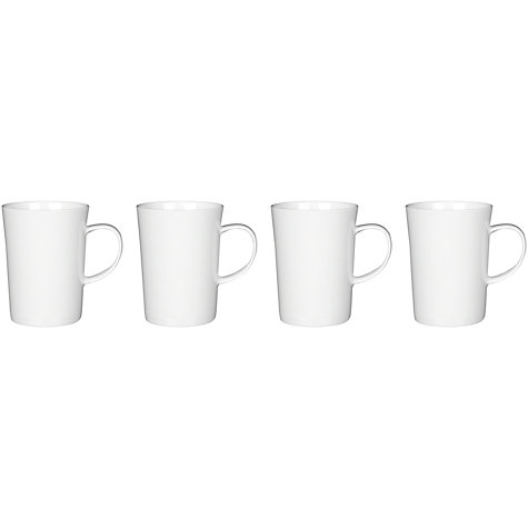 Buy Queensberry Hunt for John Lewis Cuisine Tall Tea Mugs, Set of 4 Online at johnlewis.com