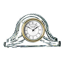 Buy Waterford Heritage Collection Wharton Mantle Clock Online at johnlewis.com