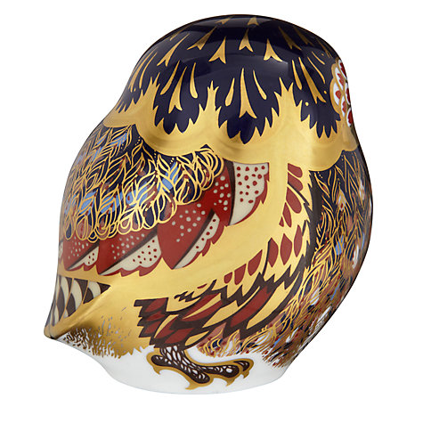 Buy Royal Crown Derby Little Owl Paperweight Online at johnlewis.com