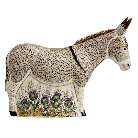 Buy Royal Crown Derby Donkey Paperweight Online at johnlewis.com