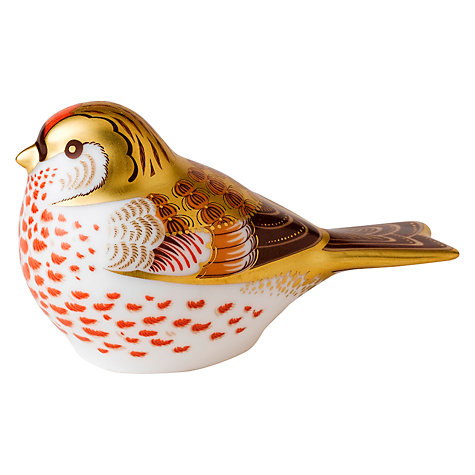 Buy Royal Crown Derby Red Poll Paperweight Online at johnlewis.com