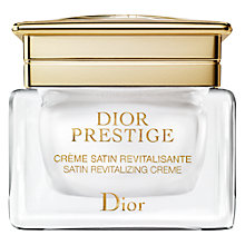 Buy Dior Prestige Satin Revitalizing Crème, 50ml Online at johnlewis.com