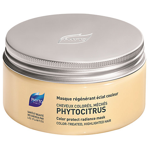 Buy Phyto Phytocitrus Colour Protect Radiance Mask, 200ml Online at johnlewis.com