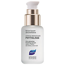 Buy Phyto Phytolisse Finishing Serum, 50ml Online at johnlewis.com