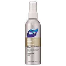 Buy Phyto Phytovolume Actif Volumizer Spray, 125ml Online at johnlewis.com