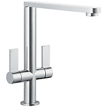 Buy John Lewis Profile Mixer Tap, Brushed Steel Online at johnlewis.com