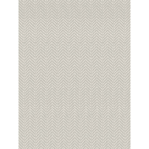 Buy John Lewis Herringbone Wallpaper, Putty Online at johnlewis.com
