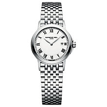 Buy Raymond Weil Women's 5966-ST-00300 Tradition Slim Bracelet Watch, Silver Online at johnlewis.com