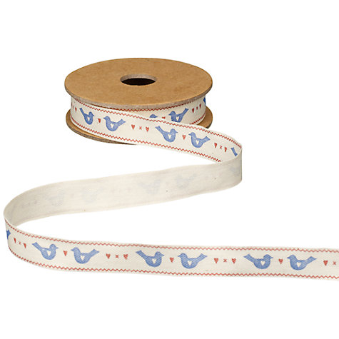 Buy East of India Hearts and Birds Ribbon, 3m Online at johnlewis.com