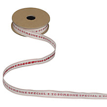 Buy East of India 'To Someone Special' Ribbon, 3m Online at johnlewis.com
