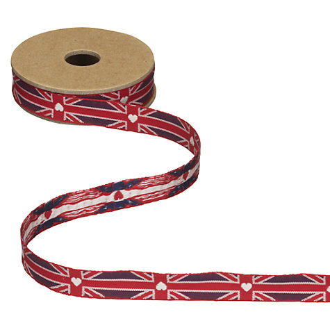 Buy East of India Union Jack Ribbon, 3m Online at johnlewis.com