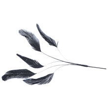 Buy John Lewis Stripped Cluster Feather Online at johnlewis.com