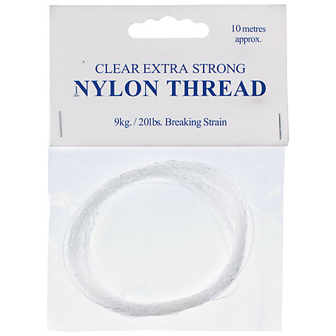 Buy Clear Strong Nylon Thread Online at johnlewis.com