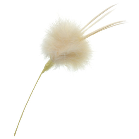 Buy John Lewis Feather Flower, Cream Online at johnlewis.com