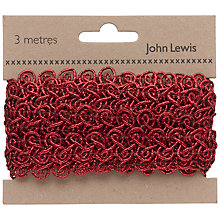 Buy John Lewis Metallic Glitter Border Online at johnlewis.com