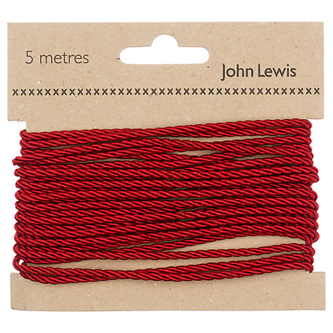 Buy John Lewis Twisted Cord, 5m Online at johnlewis.com