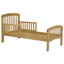 Buy John Lewis Anna Junior and Toddler Bed, Natural Online at johnlewis.com