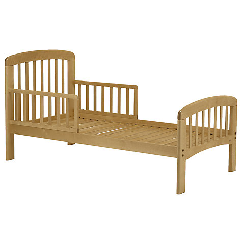 Buy John Lewis Anna Junior And Toddler Bed Natural