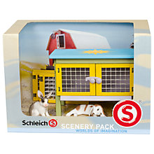 Buy Schleich Pets: Rabbit Scenery Pack Online at johnlewis.com