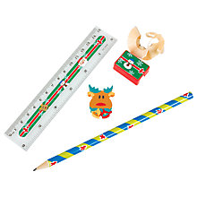 Buy Christmas Stationery Set, Assorted Online at johnlewis.com