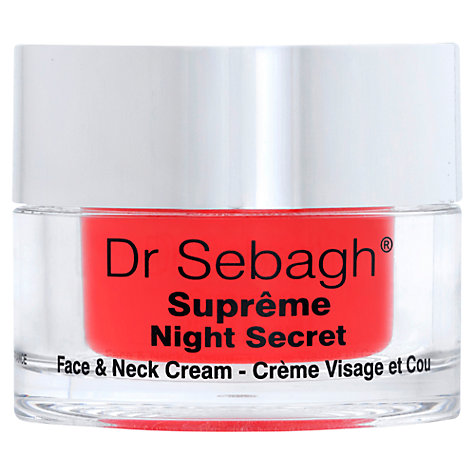 Buy Dr Sebagh Supreme Night Secret, 50ml Online at johnlewis.com