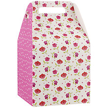 Buy John Lewis Floral & Spots Pop-Up Gift Bag, Small Online at johnlewis.com