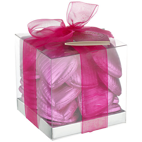 Buy Ambassadors of London Swiss Chocolate Hearts, Pink, 150g Online at johnlewis.com