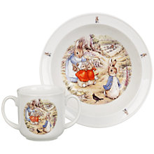 Buy Beatrix Potter Peter Rabbit China Set, 2-Piece Online at johnlewis.com