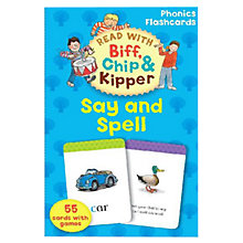 Buy Read With Biff, Chip, and Kipper: Say and Spell Online at johnlewis.com