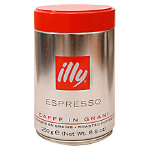 Buy Illy Roasted Coffee Beans, 250G Online at johnlewis.com