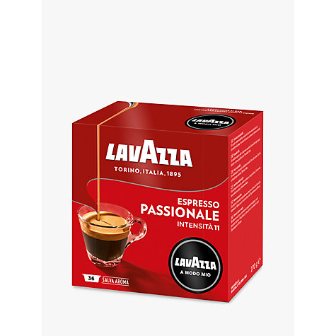 Buy Lavazza Passionale A Modo Mio Espresso Capsules, Pack of 16 Online at johnlewis.com