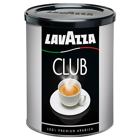Buy Lavazza Club Coffee Blend, 250G Online at johnlewis.com