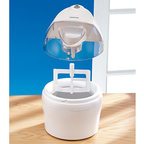 Buy Kenwood IM200 Ice Cream Maker, White Online at johnlewis.com