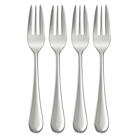 Buy Studio William Mulberry Mirror Pastry Forks, Set of 4 Online at johnlewis.com