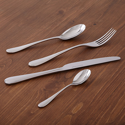 Buy Studio William Mulberry Mirror Soup Spoon Online at johnlewis.com