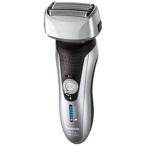 Buy Panasonic ES-RF41-S 4-Blade Wet and Dry Shaver Online at johnlewis.com