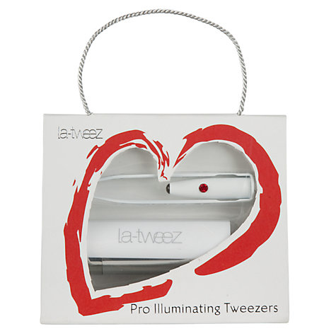 Buy La-Tweez Professional Illuminating Tweezers Online at johnlewis.com