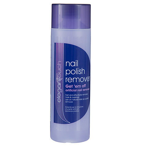 Buy Elegant Touch Get 'em Off Nail Polish Remover, 200ml Online at johnlewis.com