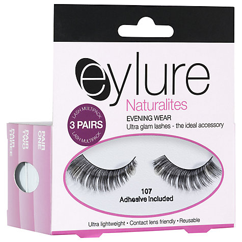Buy Eylure Naturilite Evening False Eye Lashes Online at johnlewis.com
