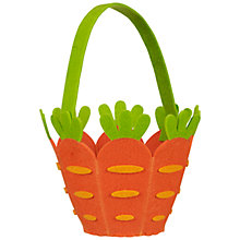 Buy John Lewis Felt Carrot Bag Online at johnlewis.com