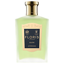 Buy Floris Elite After Shave, 100ml Online at johnlewis.com