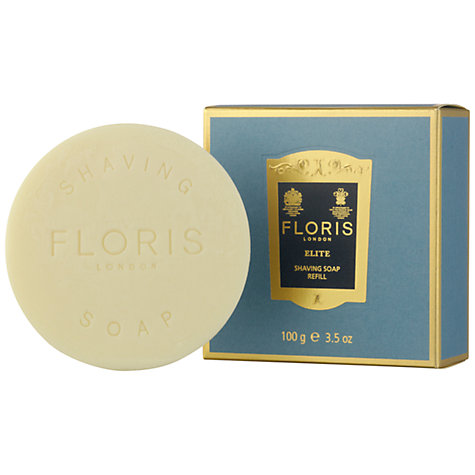Buy Floris Elite Shave Soap Refill, 100g Online at johnlewis.com