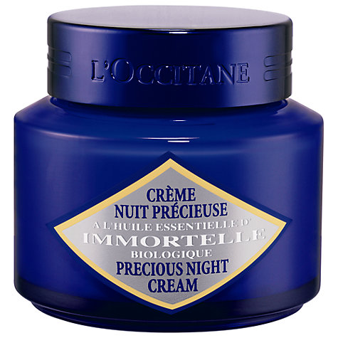Buy L'Occitane Precious Night Cream, 50ml Online at johnlewis.com