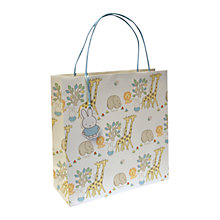 Buy Miffy At The Zoo Gift Bag, Large Online at johnlewis.com