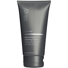 Buy Trilogy Age Proof Enzyme Cleansing Cream, 150ml Online at johnlewis.com
