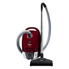 Buy Miele S6220 Cat & Dog Cylinder Vacuum Cleaner, Tayberry Red Online at johnlewis.com