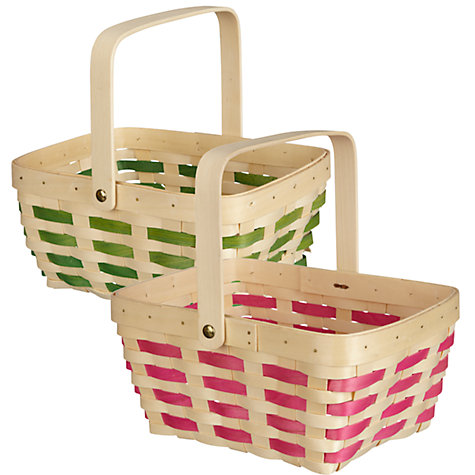 Buy Big Decs Trug, Pink/Green, Assorted Online at johnlewis.com